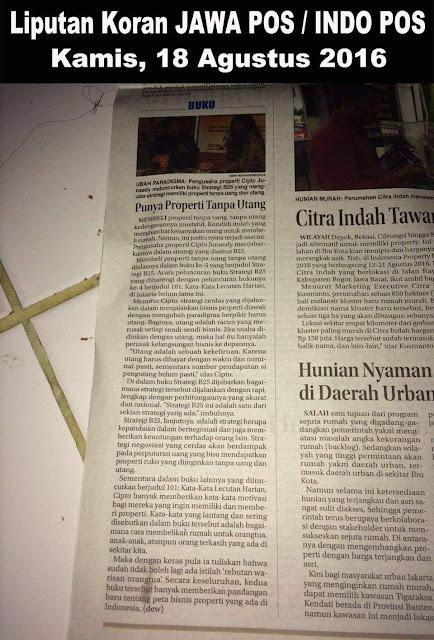 Liputan Koran Jawa Pos/Indo Pos 18 Agustus 2016