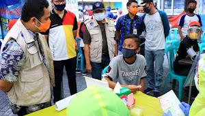 Tracing Covid-19, Dinkes Kota Tangerang Lakukan Rapid Test Di Pusat Keramaian