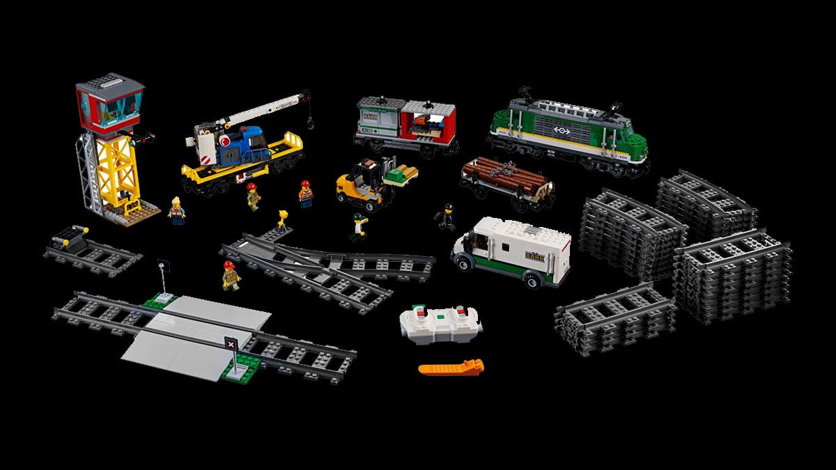 レゴ 60198 貨物列車(カーゴトレイン):シティ:新製品・価格情報(LEGO)