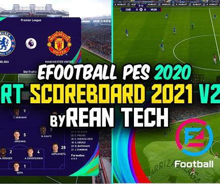 PES 2020 RT Scoreboard Mod PES 2021 V2