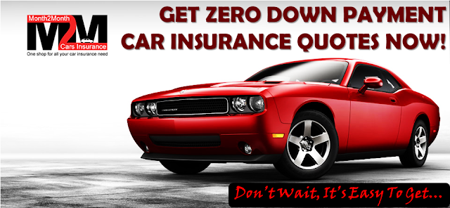 Get 0 Down Payment Car Insurance Online