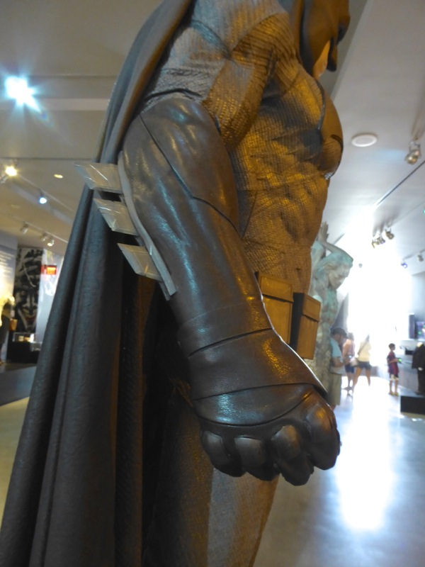 Batman v Superman grey Batsuit glove