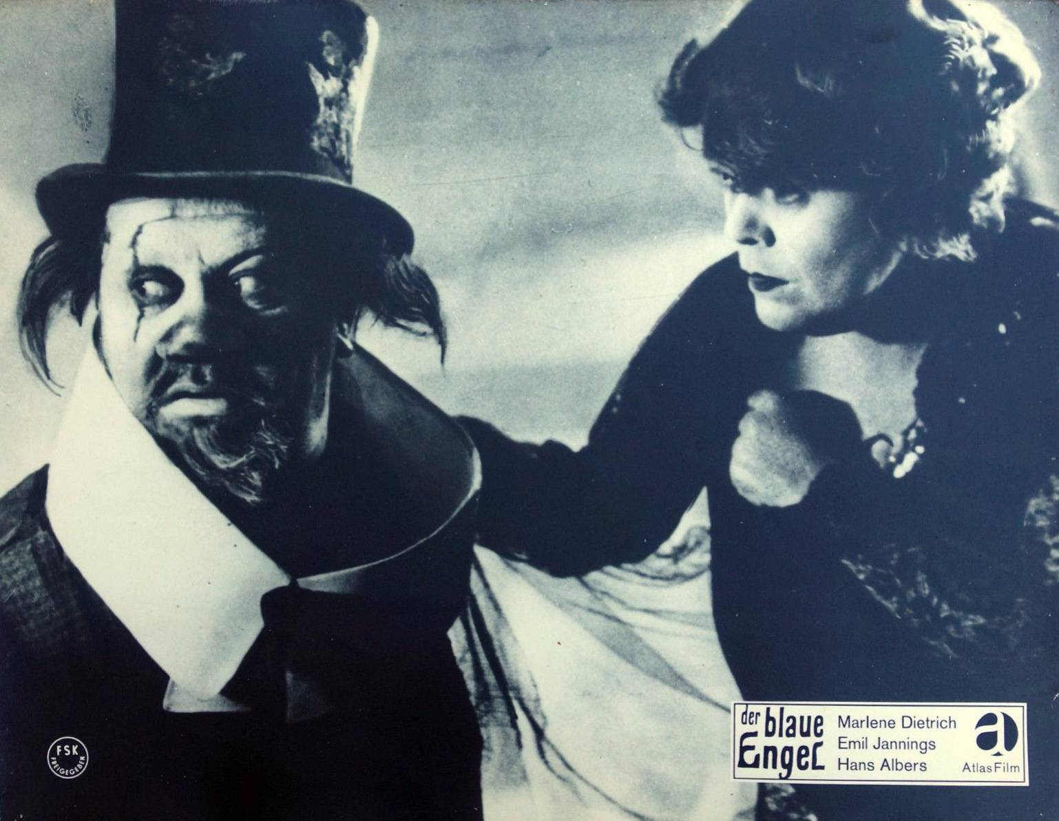 Der Blaue Engel Josef Von Sternberg Decaying Hollywood Mansions Poster And Lobby Cards For The