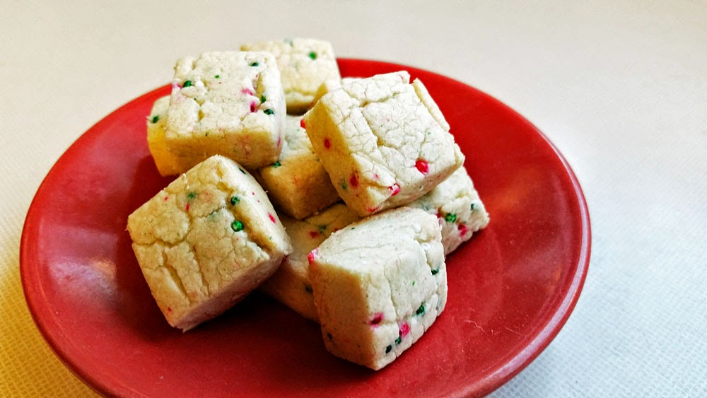 tiny shortbread cookies