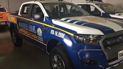 Guarda Civil Metropolitana de Goiânia (GO) recebe novas viaturas