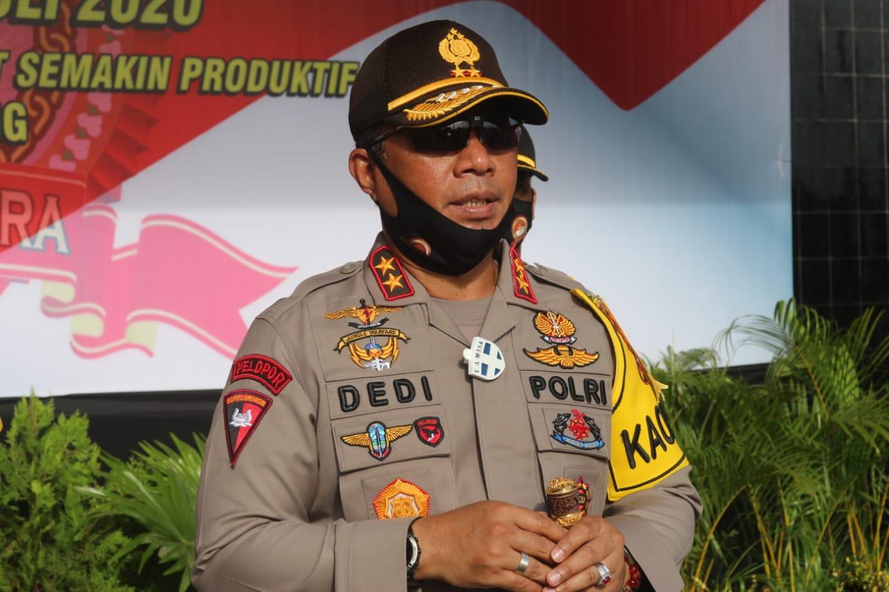 Apresiasi Kinerja Personel Polri, 47 Personel Polda Kalteng Terima Penghargaan Kapolda
