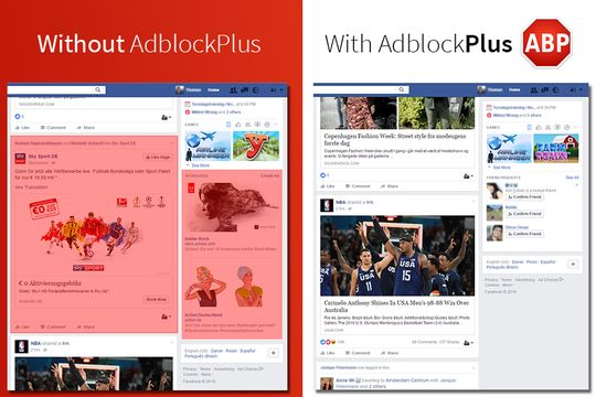 Pemblokir adblocker Facebook Kini Telah Di Lumpuhkan Adblock Plus