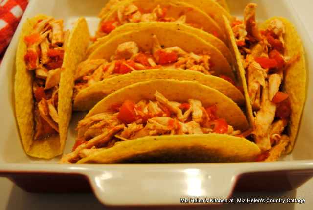 Baked Turkey Tacos at Miz Helen's Country Cottage