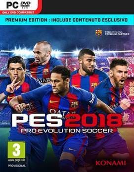 PES 2018 - Pro Evolution Soccer 2018 Jogos Torrent Download capa