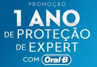 Promoção 1 ano de proteção de expert com Oral-B protecaoexpertoralb.com.br
