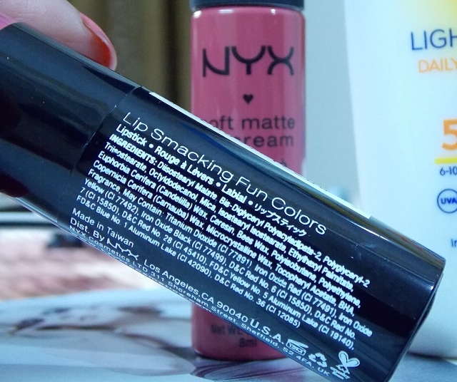 Nyx Round Lipstick Louisiana Review, swatches