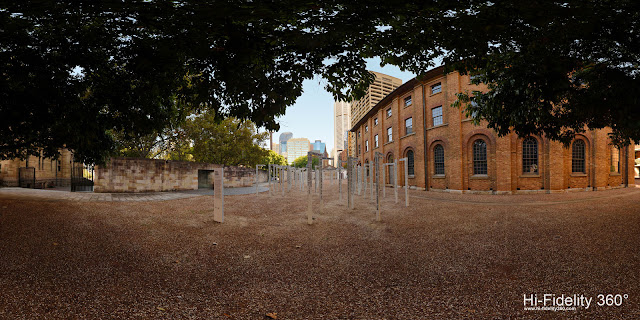 Who goes here? South View, Art Installation by Fiona Hall at Hyde Park Barracks