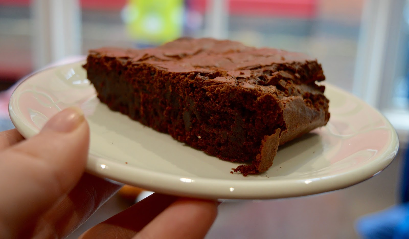 Great Days Out with Northern  | Our Day Trip to Carlisle by Train - coffee genius homemade chocolate brownie