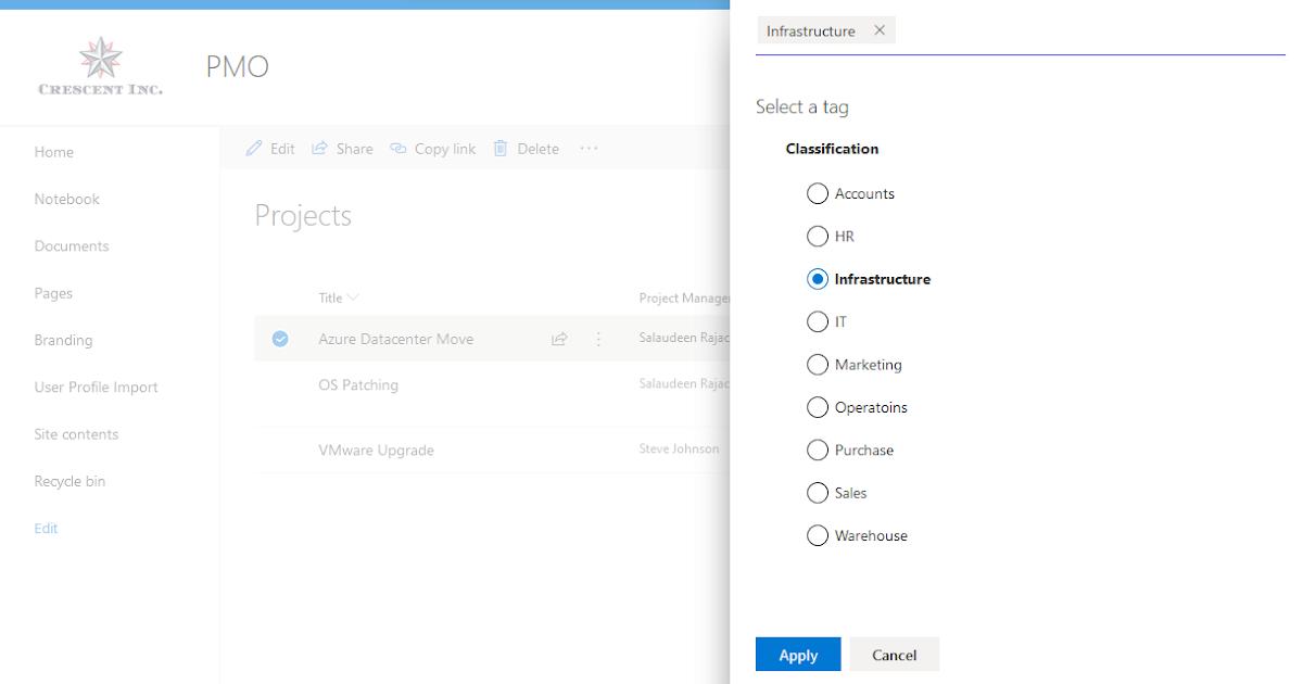 SharePoint Online: PowerShell to Get Managed Metadata