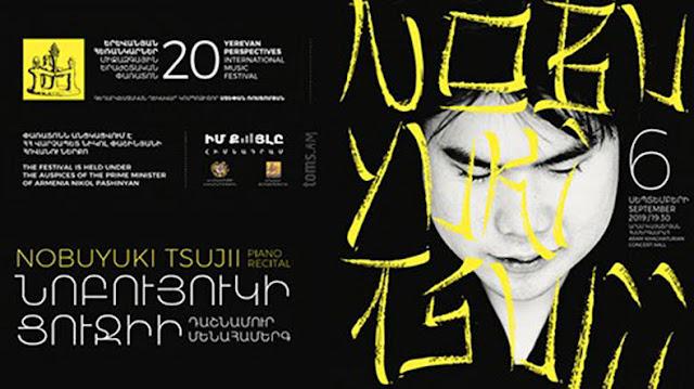 El pianista japonés Nobuyuki Tsujii actuará en Armenia