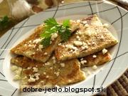 Cuketovo-bryndzové placky - recept