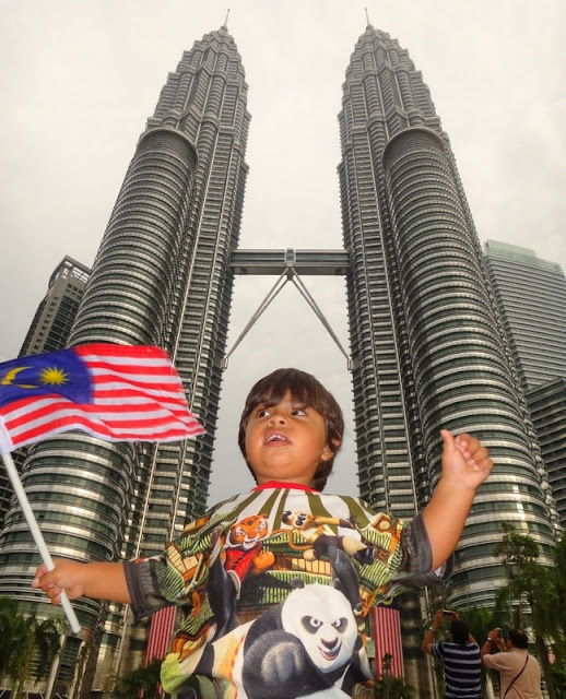 Torres Petronas em Kuala Lumpur