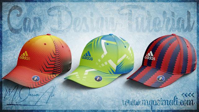 Photoshop Mockup Tutorial_How to Design Cool Cricket Cap in Photoshop cc 2020 by M Qasim Ali