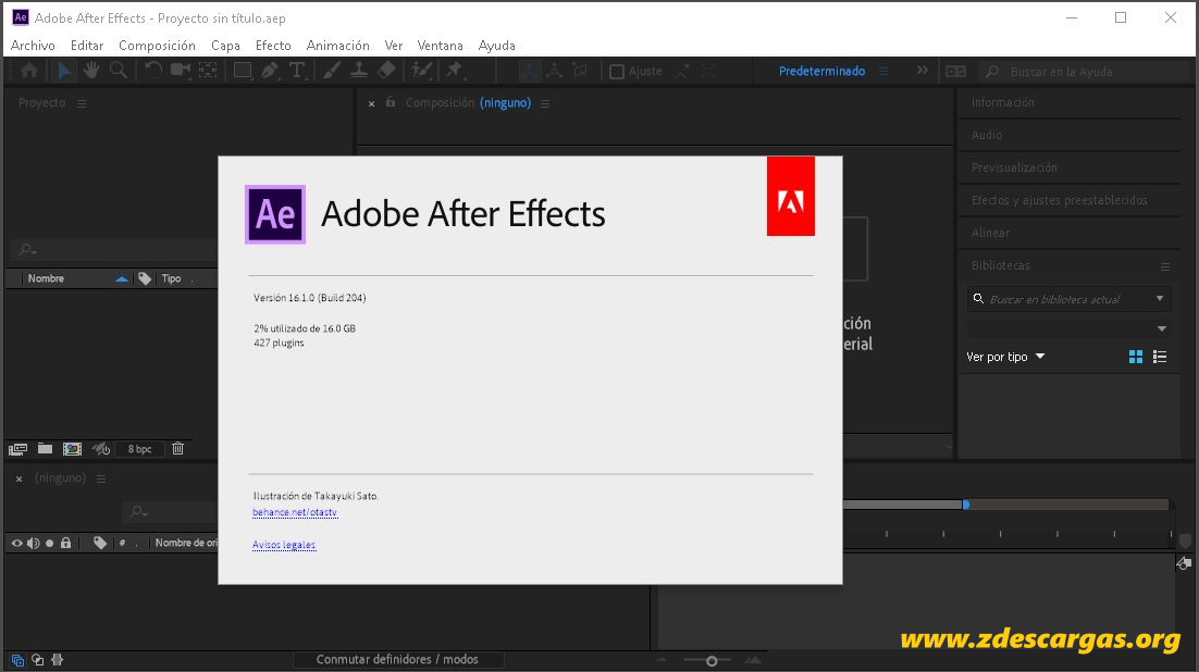 Adobe After Effects CC 2019 Full Español