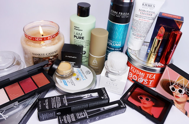 Beauty Shopping-HAUL (September 2016) NARS, Lancome, Yankee Candle, MAC, Kusmi Tea, Clarisonic, The Body Shop