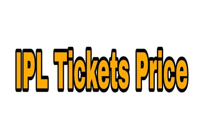 IPL Tickets Booking Price Final Match