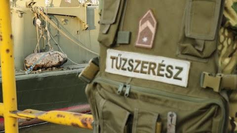 Elszállítják az Iváncsán talált világháborús bombát