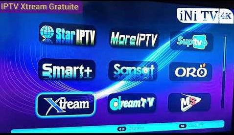 إكستريم طويلة المدة مجانا IPTV Xtream Gratuite
