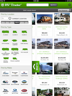 RV Trader Blog: RV Trader Launches Tablet Site