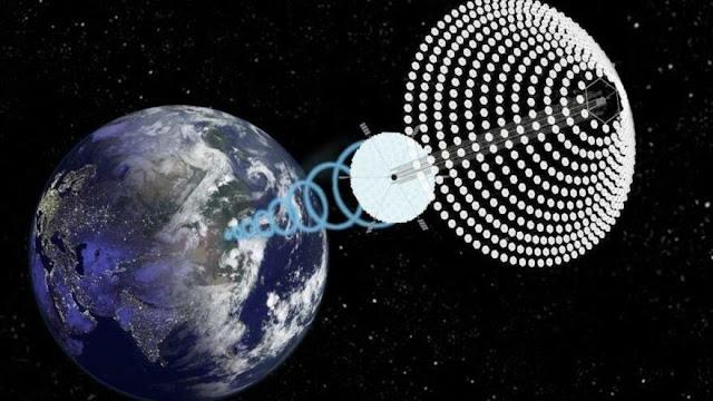 China busca construir una central eléctrica solar en el espacio