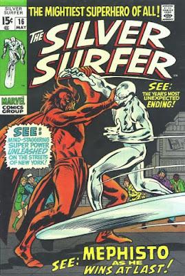 Silver Surfer #16, Mephisto