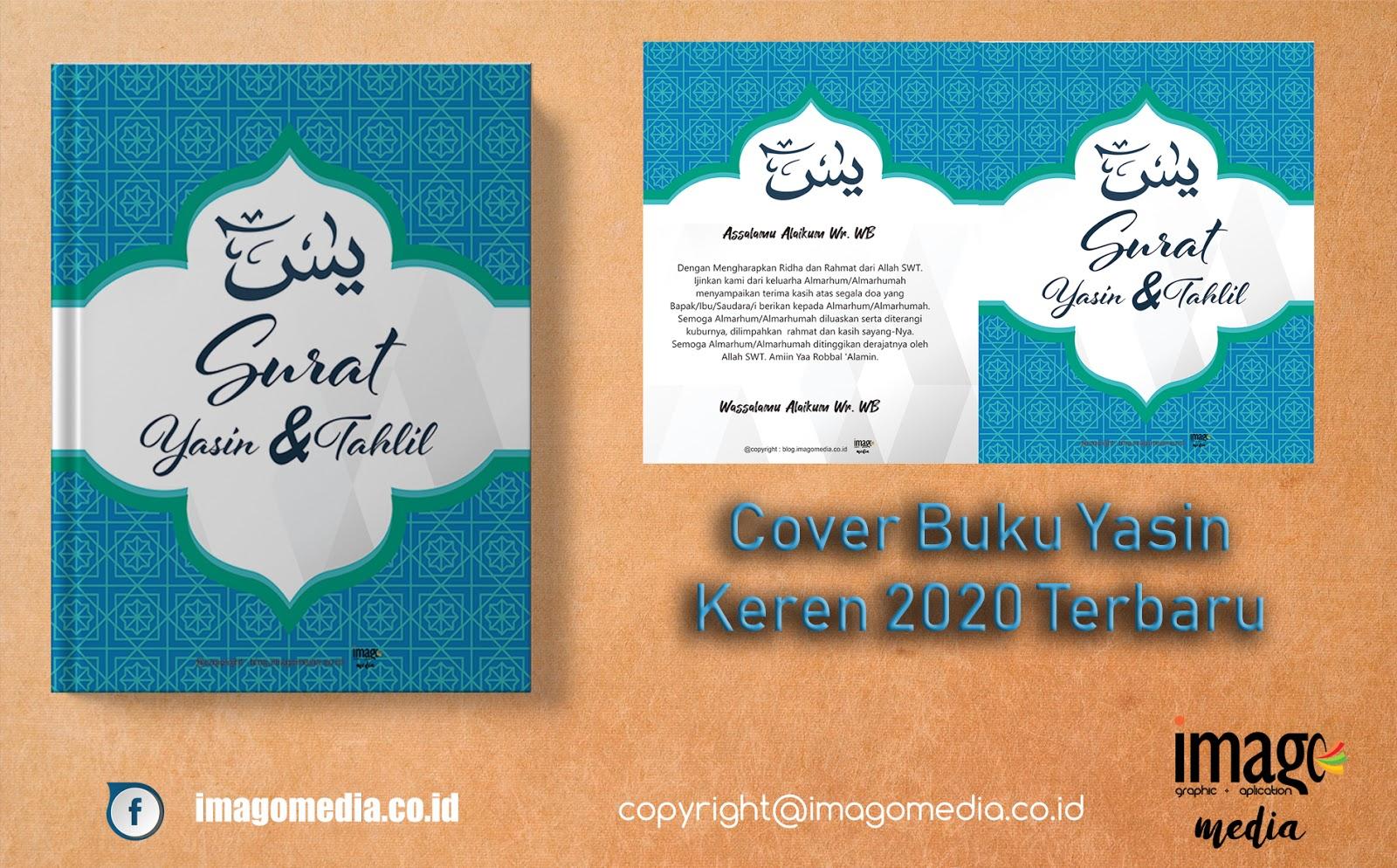 Cover Buku Yasin Keren Corel Draw 2020 Terbaru Imago Media Home Of Creativity