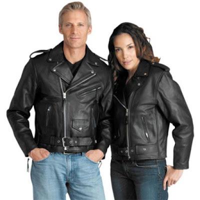 Gambar Jaket Kulit Bikers Couple