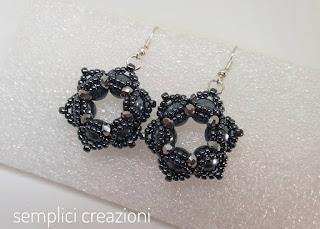 orecchini con perle da 6mm