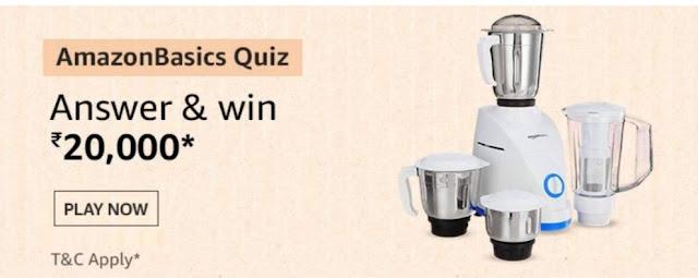 Amazon Basics Quiz Answers-
