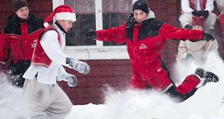 FC- Santa -Claus- play- in- Lapland's- capital,- Rovaniemi