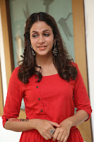 Actress Lavanya Tripathi Latest Pos in Red Dress at Radha Movie Success Meet .COM 0174.JPG