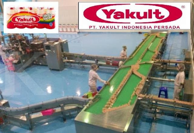 Informasi Terbaru Lowongan Kerja PT Yakult Indonesia Persada