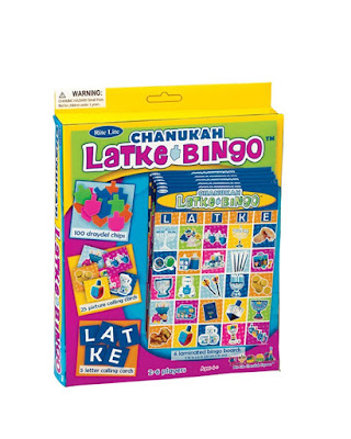 Hanukkah latke bingo game for kids to play