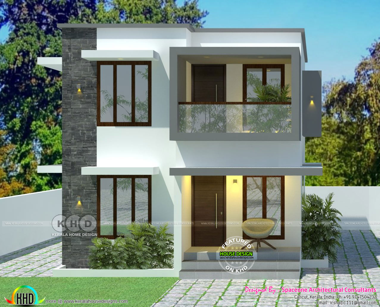 Simple Low Cost House In 2 Cents Of Land Area Kerala