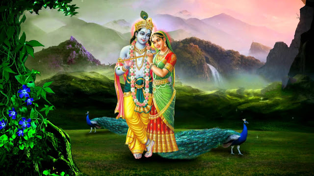 Best Radha & krishna HD Wallpaper For MacBook