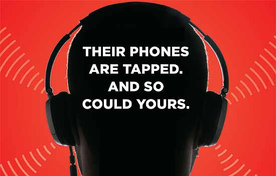 Six ways your phone can be illegally tapped !