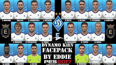 PES 2017 Dynamo Kiev Facepack by Eddie