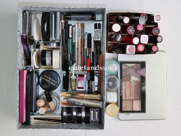 Moja cała kolorówka - przegląd kosmetyków do makijażu