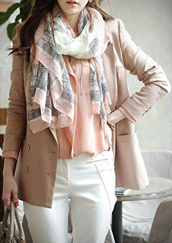 Cute Silk Chiffon Scarves Shawls