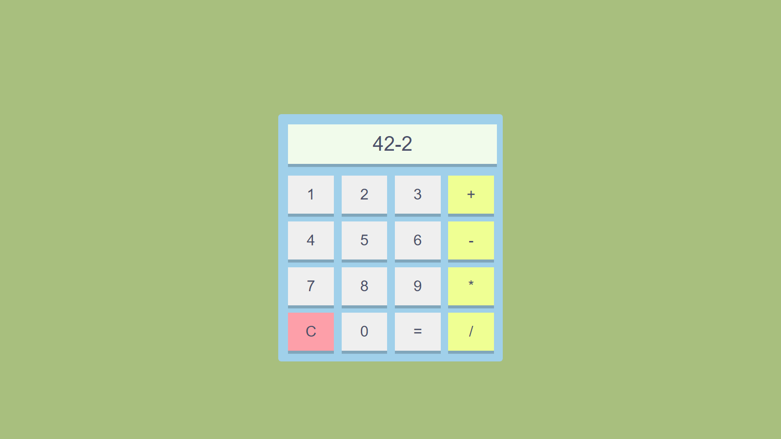 How To Make Calculator Without JavaScript (Using Only HTML and CSS)
