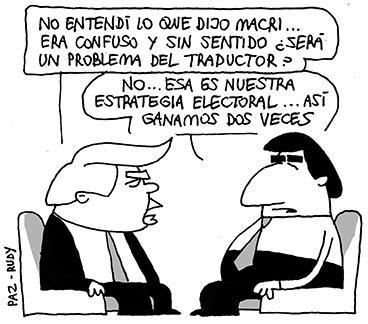 De traductores y estrategias electorales