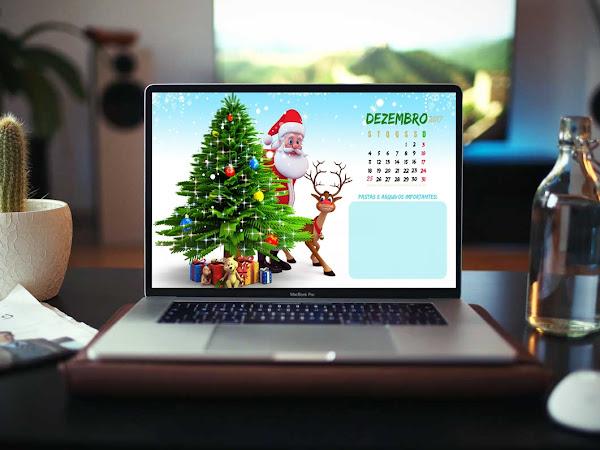 Dezembro chegou: Organize seu desktop com lindos calendários