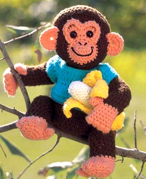 Charlie Chimp - Free Pattern