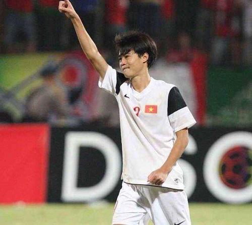 Văn Toàn có màn trình diễn tốt trước U19 Nhật Bản