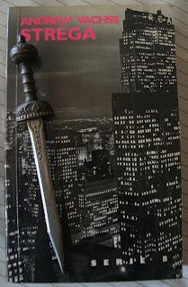Portada del libro Strega, de Andrew Vachss
